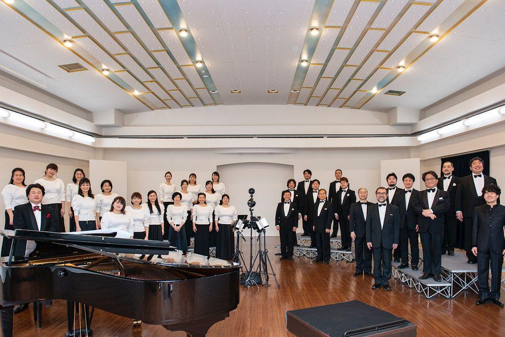 音のVRを収録した東京混声合唱団