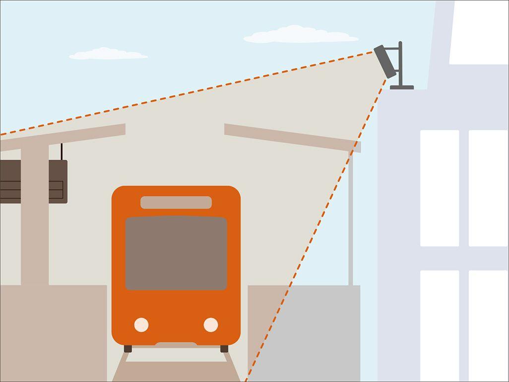 駅周辺の5G対策のイメージ