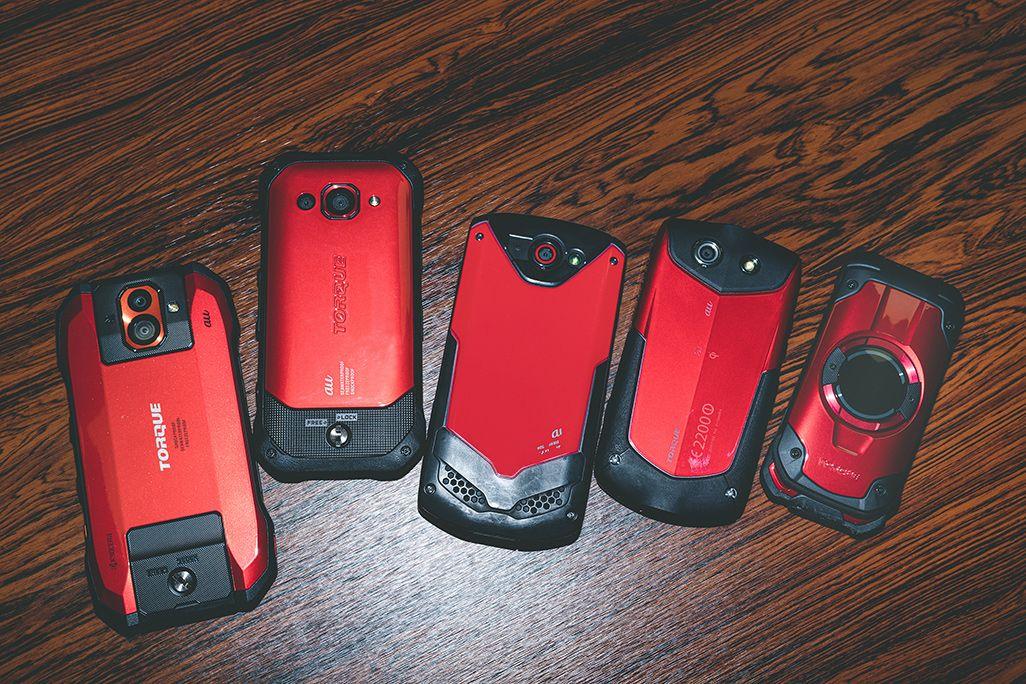 歴代TORQUEシリーズの赤色