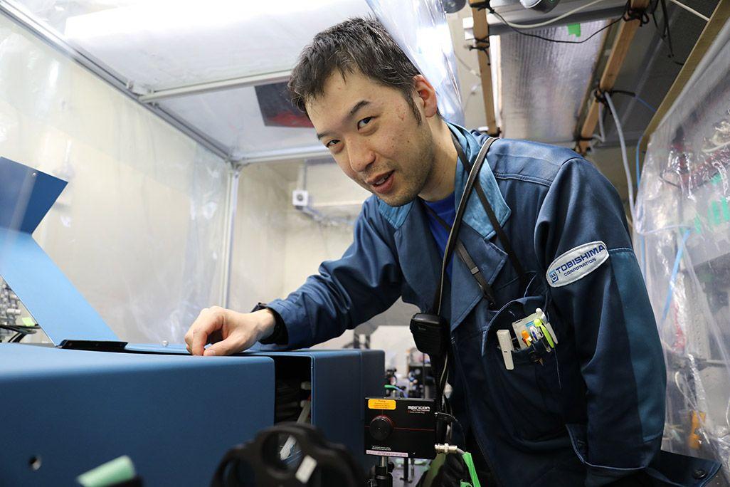 国立極地研究所の大気研究者の西山尚典さん