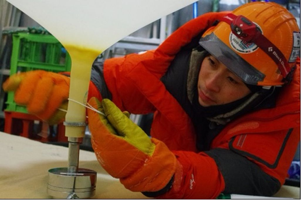第62次南極越冬隊員の新居見励さん