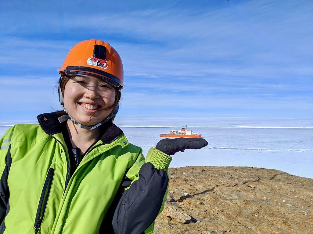 第61次南極地域観測隊の佐々木貴美
