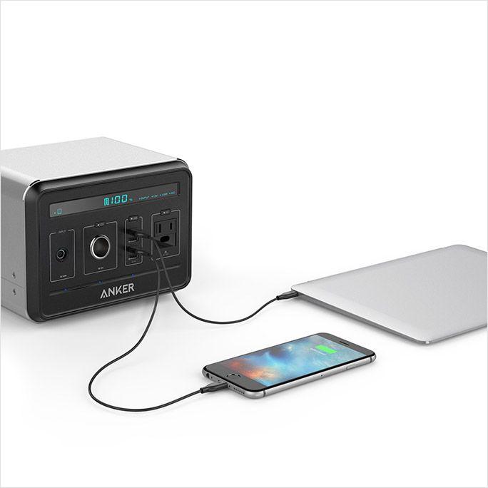 40回も充電できるモバイルバッテリー「PowerHouse」