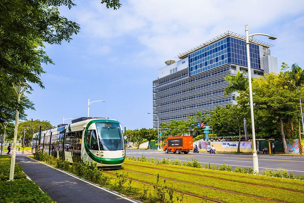 台湾・高雄市のLRT(ライトレール)