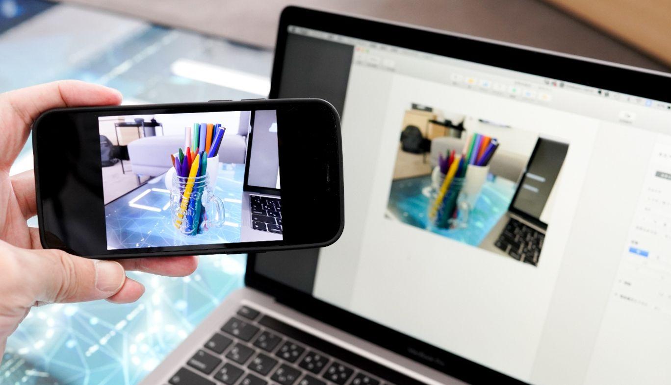 iPhoneとMacの連係カメラ