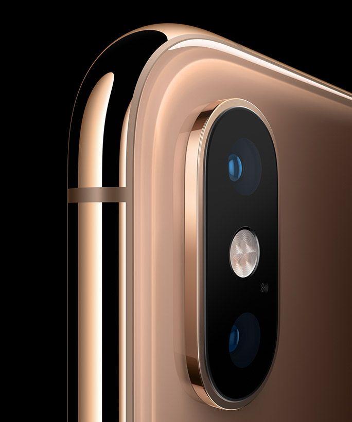 iPhone XS デュアルカメラ