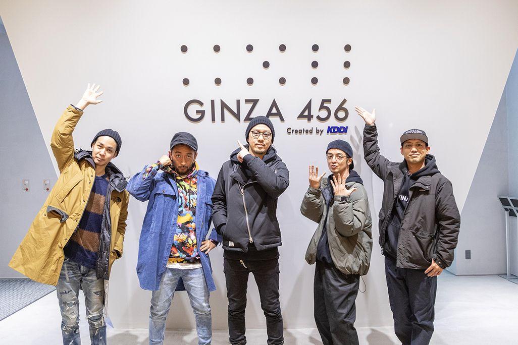 「GINZA 456」に集結したORANGE RANGE