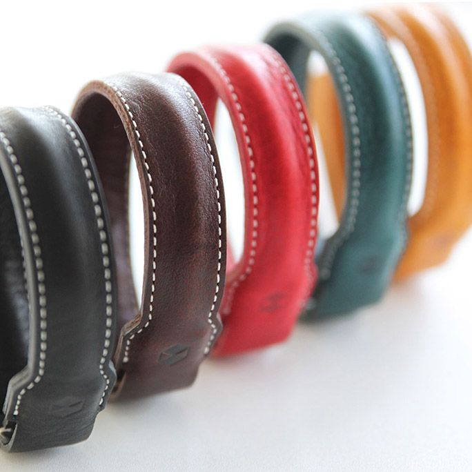 Minerva Box Leather Bracelet Cable