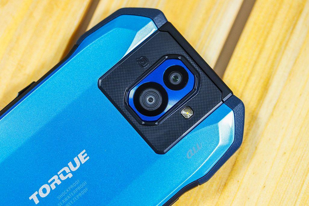 au TORQUE G04のカメラ