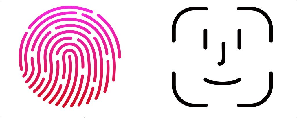 Touch IDとFace ID