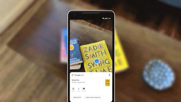 Google レンズ リアルタイム検索