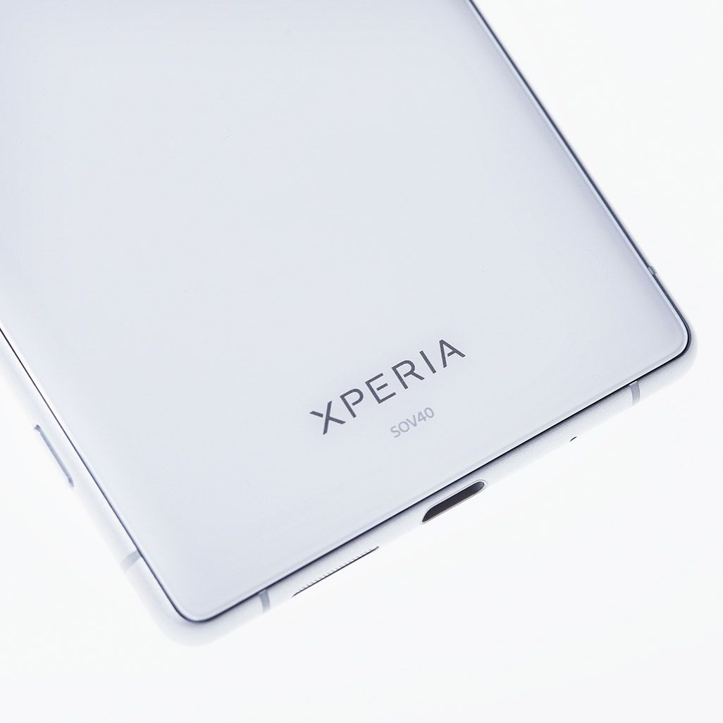 Xperia 1のボディ背面