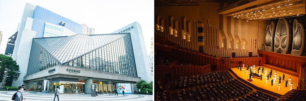 会場となった東京芸術劇場コンサートホール