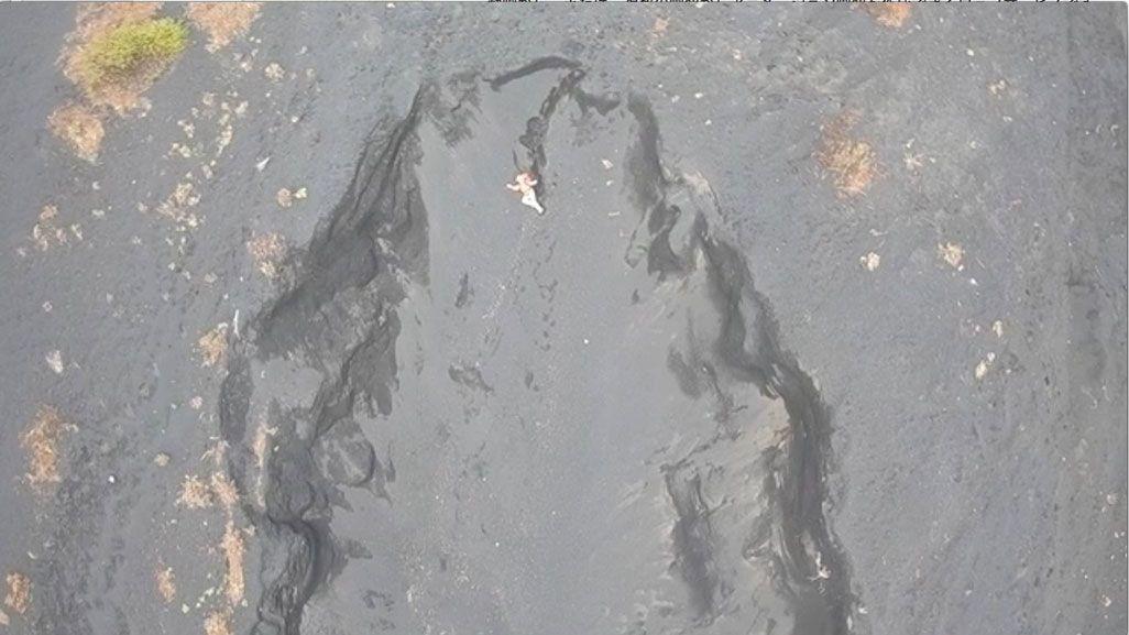 ドローンから撮影した写真