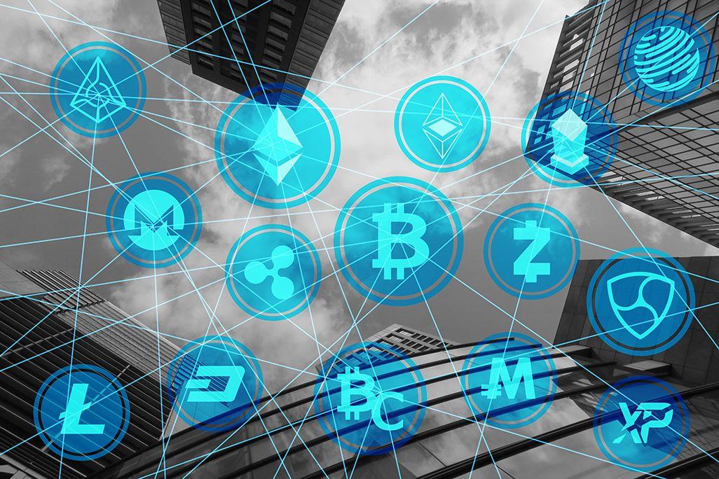 仮想通貨のイメージ図