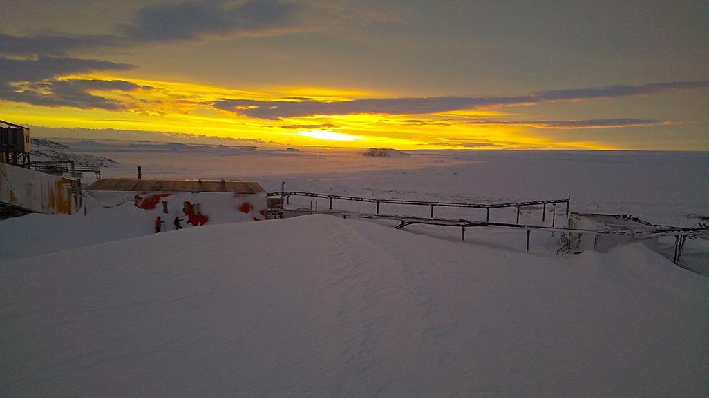 南極の景色