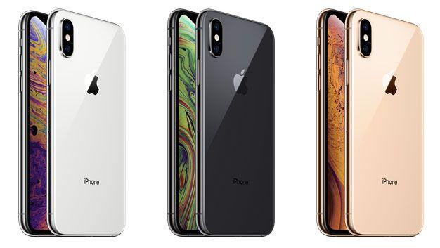 iPhone XS XS Max カラー シルバー スペースグレイ ゴールド