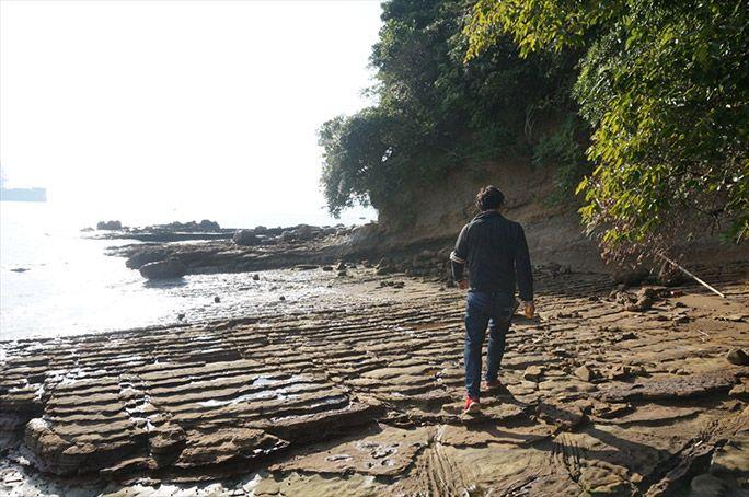 無人島を探検するヨッピー