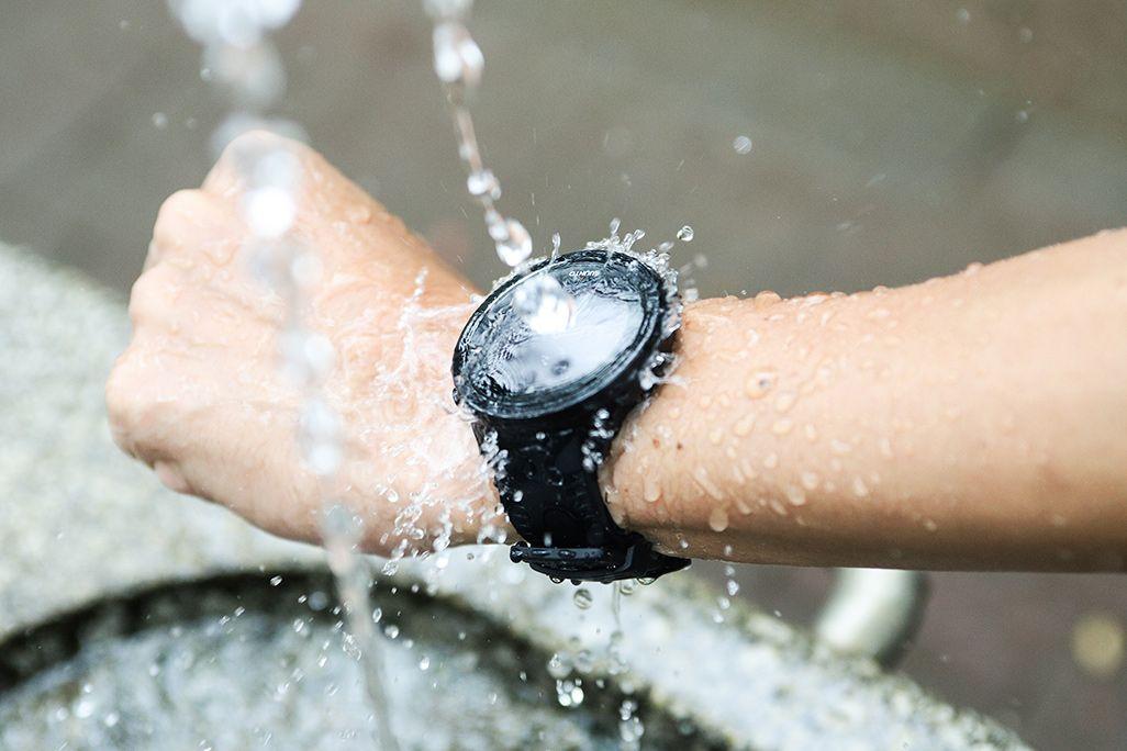 防水性能の高いランニングウォッチ
