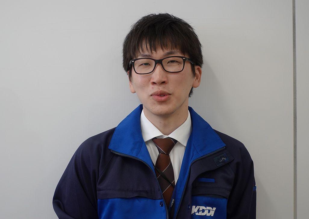 KDDIエリア品質管理部 奥田拓希