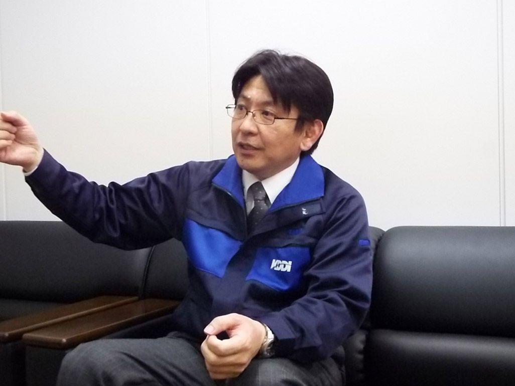 KDDIグローバル技術・運用本部 グローバルネットワーク・オペレーションセンター 衛星通信グループリーダー・高橋徳雄