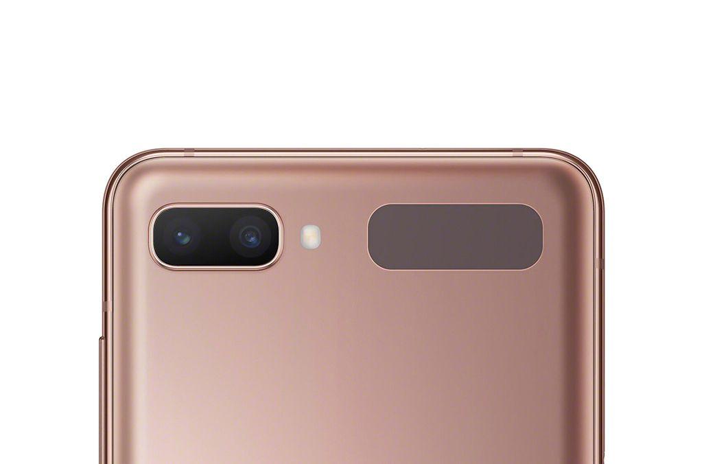 Galaxy Z Flip 5Gの背面カメラ