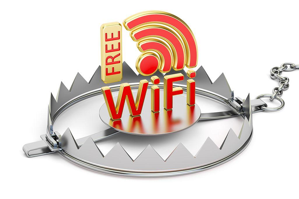 カギマークなしのフリーWi-Fiは危険