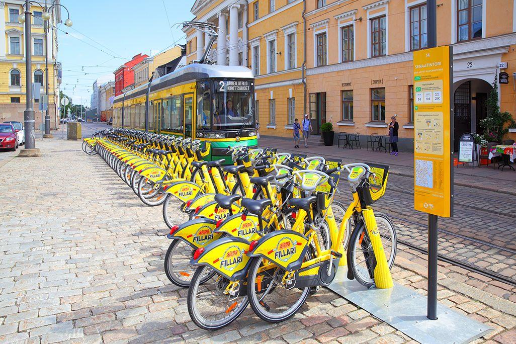 フィンランドのMaaSアプリ「ウィム」で利用できるシェアサイクル