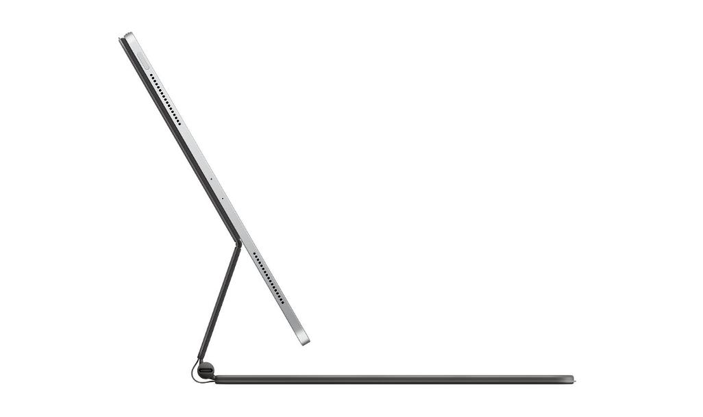 iPad pro 2020 とMagic Keyboardを側面から見たイメージ