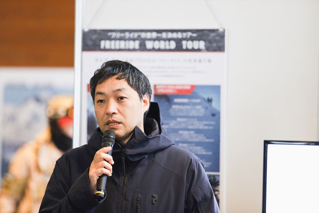 白馬村観光局事務局長 福島洋次郎さん