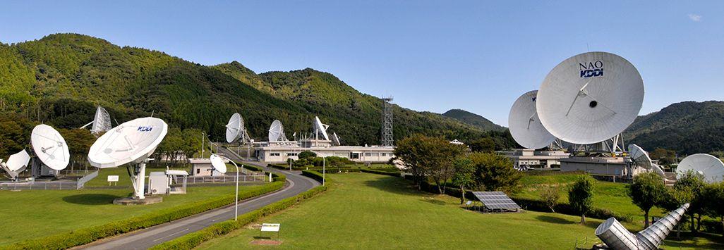 山口県山口市にあるKDDI山口衛星通信所