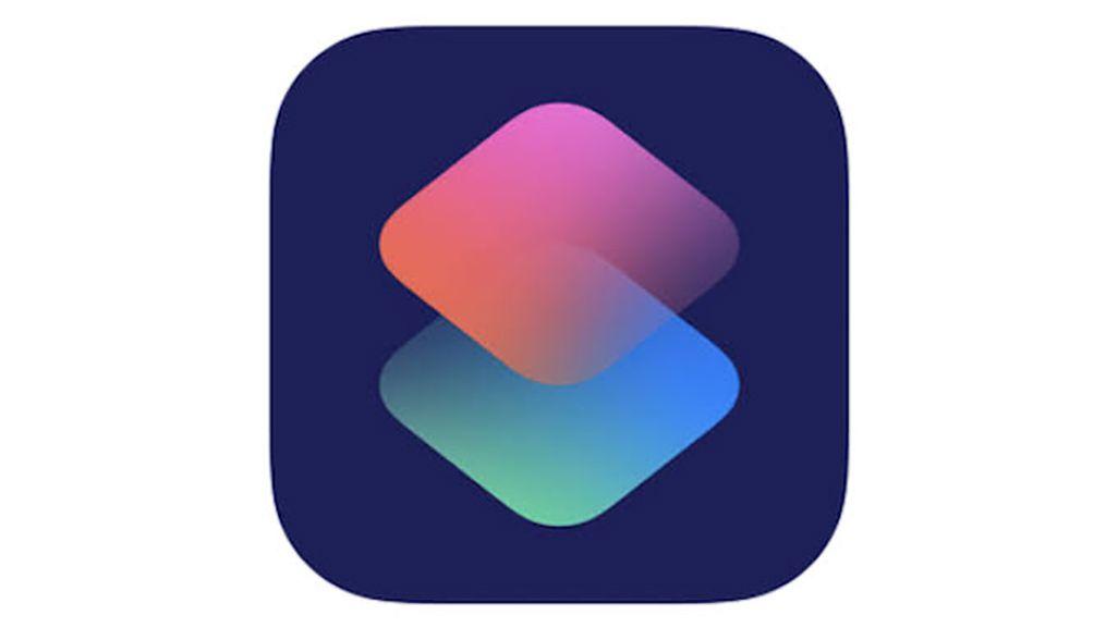 iPhoneの「ショートカット」アプリのアイコン