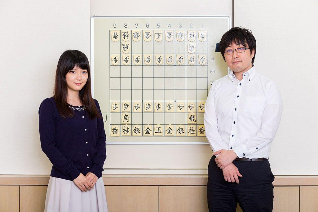 KDDI瀧澤誠と女流棋士・香川愛生