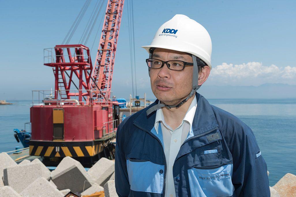 KDDIエンジニアリング西日本支社高松支店建設グループ・難波隆之