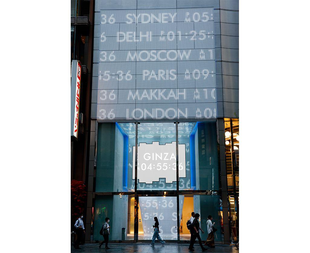 GINZA 456のファサード