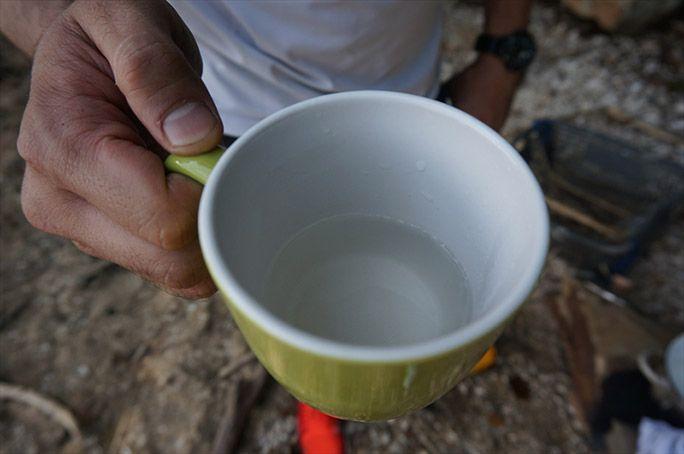 真水を作るヨッピー