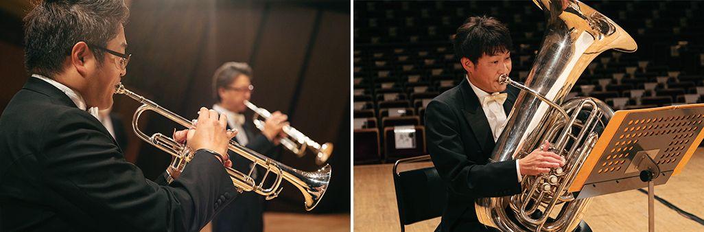 新日本フィルの金管五重奏