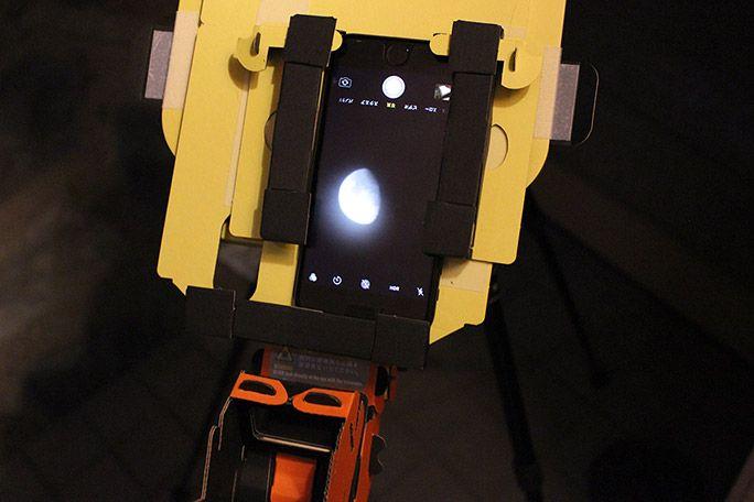 スマホ天体望遠鏡PalPANDA UDで天体観測