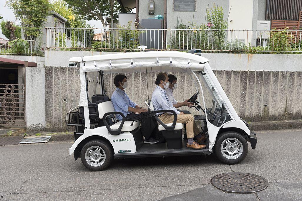 自動運転車ゆっくりカート