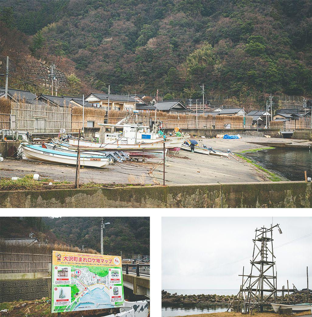 「まれ」のロケ地となった石川県輪島市大沢町