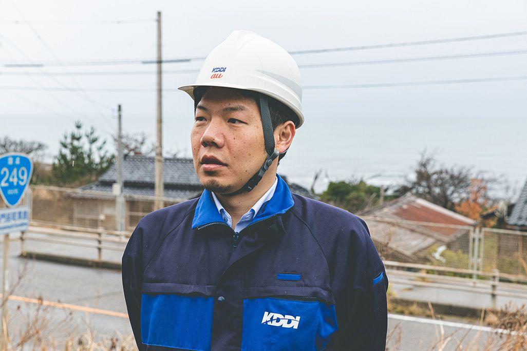 KDDI金沢テクニカルセンターの渡邊啓介