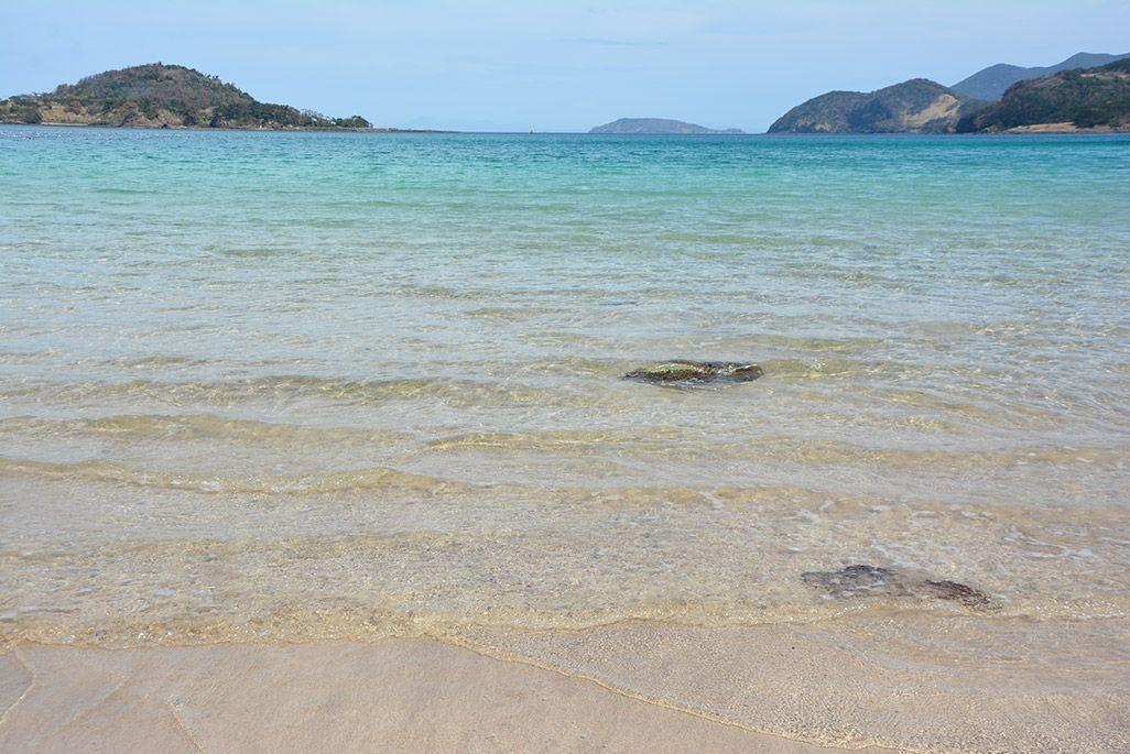 小値賀島の柿の浜海水浴場