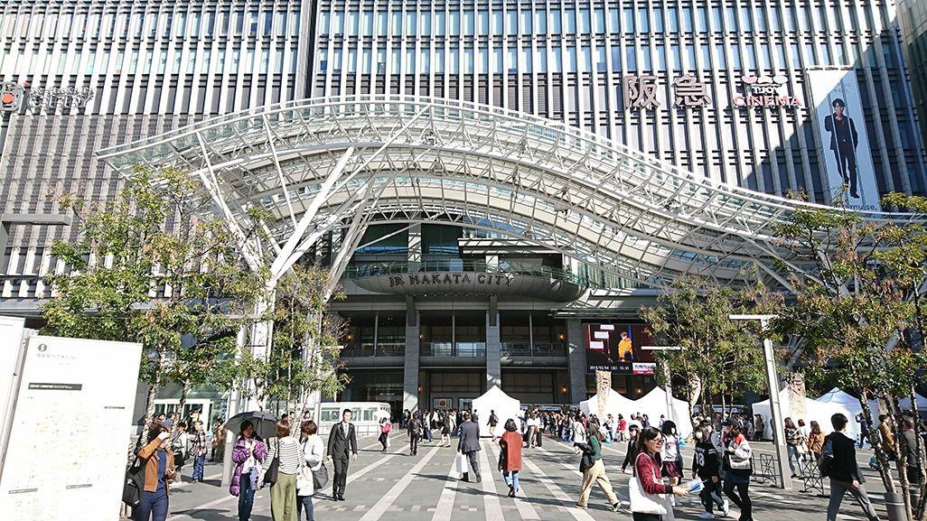 福岡の人気スポット、天神