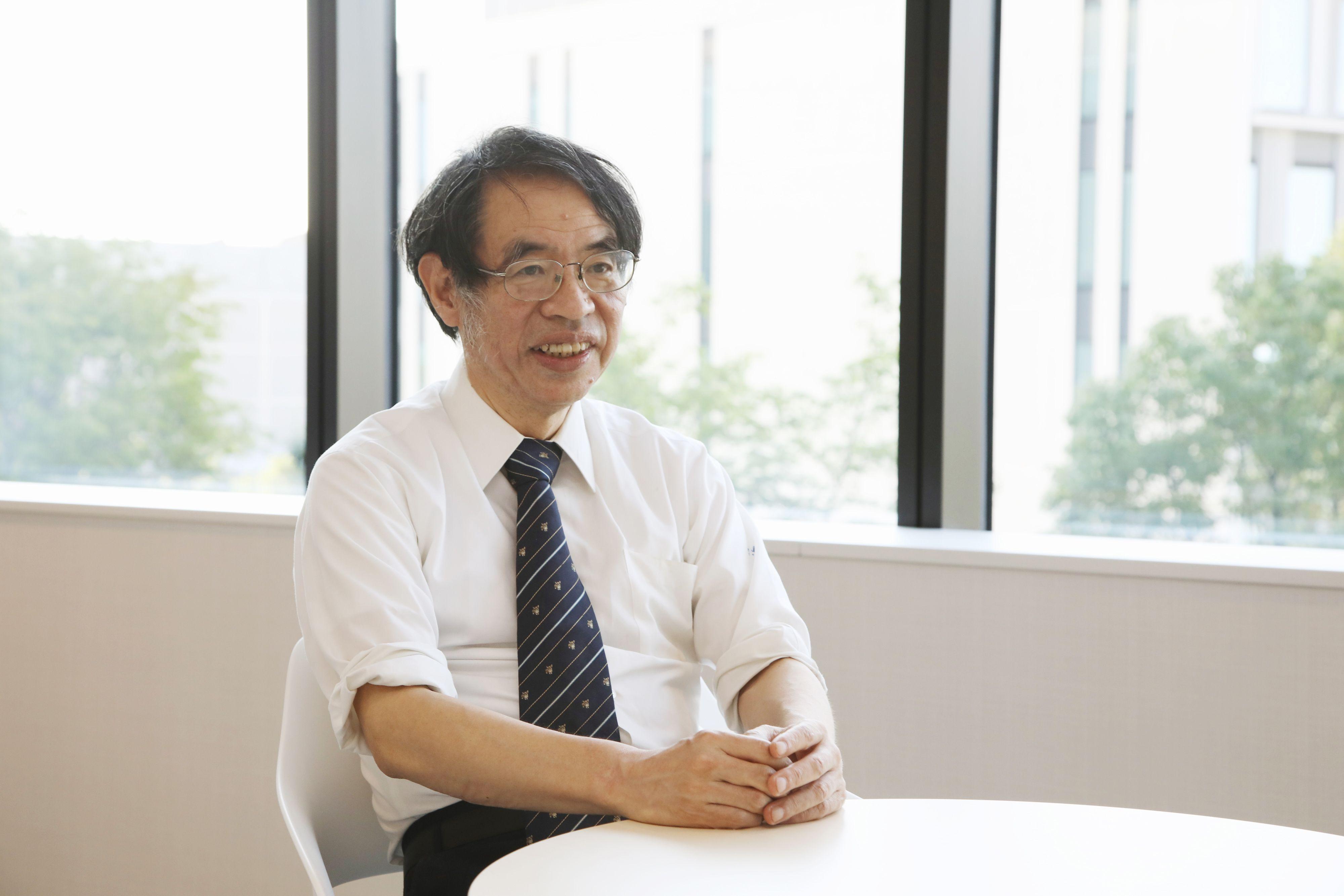 国際通信の研究者の大野哲弥さん