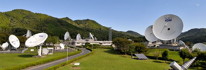 KDDI山口通信衛星所