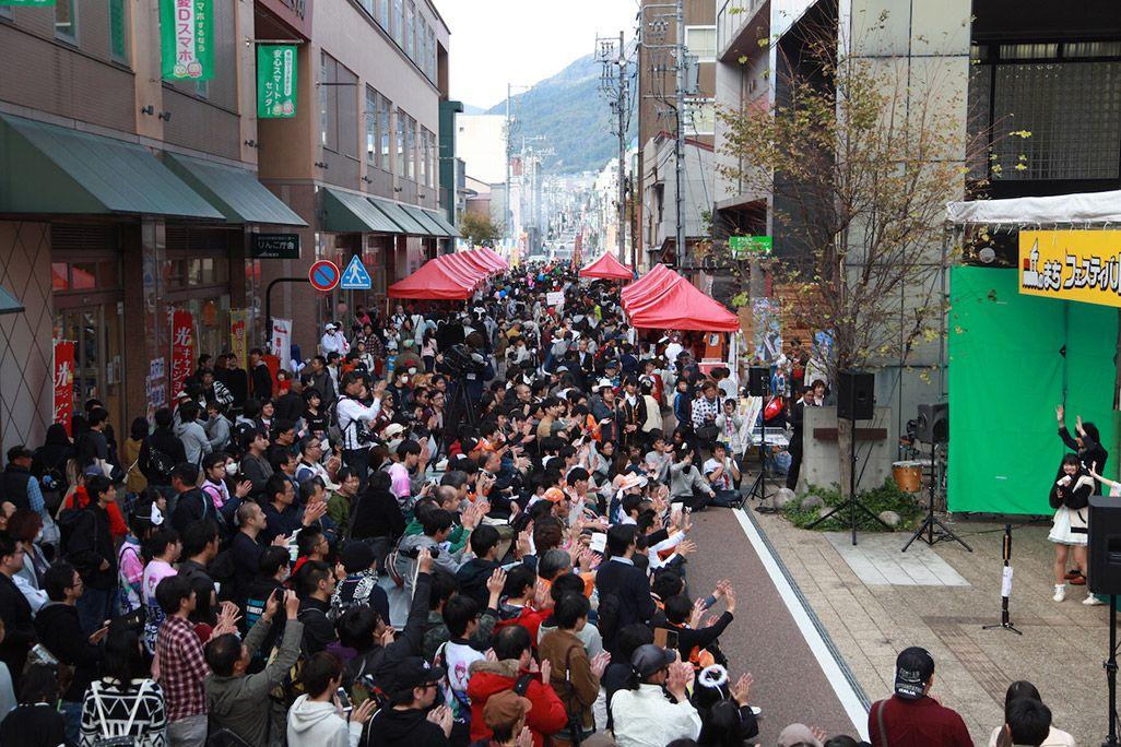 飯田丘のまちフェスティバルの模様