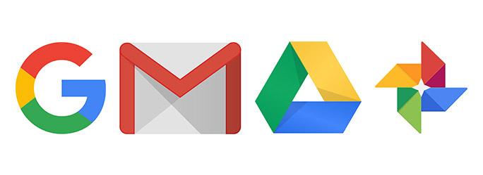 Google サービスのアイコン