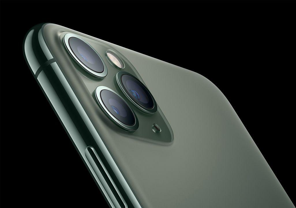 iPhone 11 Proの3眼カメラ
