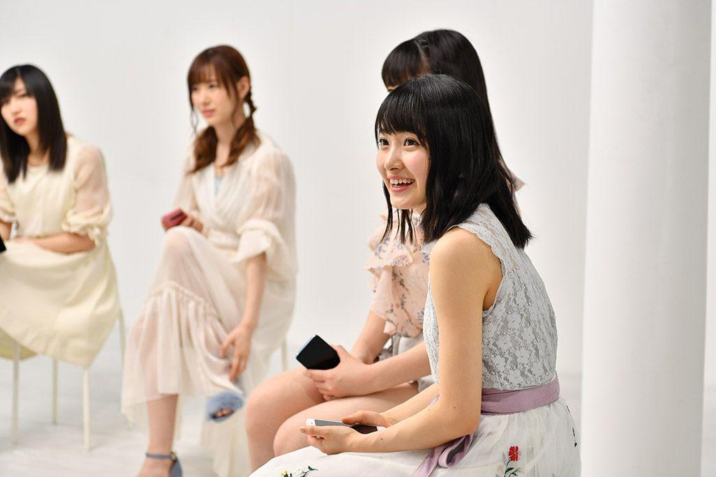「音のVR」収録スタジオで微笑むモーニング娘。'18・森戸知紗希