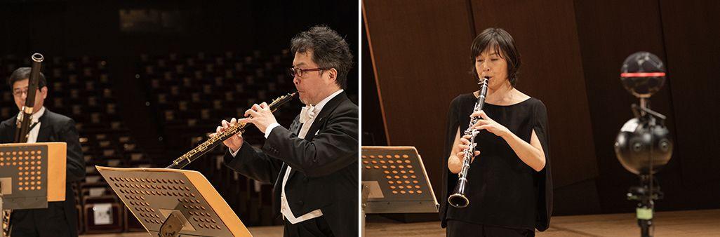 新日本フィルの木管五重奏